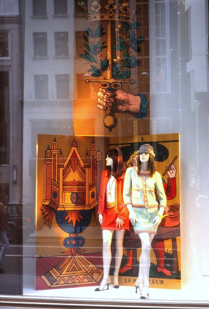 Bergdorf Chanel window display 2